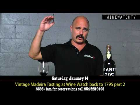 Vintage Madeira Tasting at Wine Watch back to 1795 part 2 - click image for video