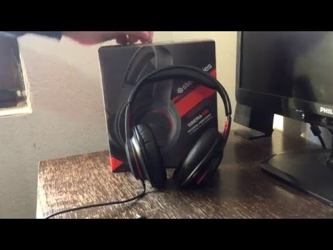 3611a60c195 SteelSeries Siberia 100 headset review - YouTube