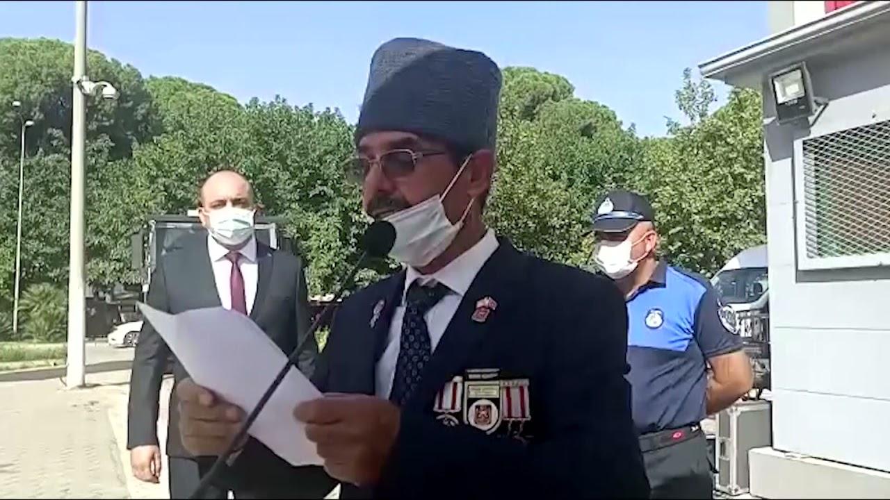 Ödemiş'te 19 Eylül Gaziler Günü törenle kutlandı