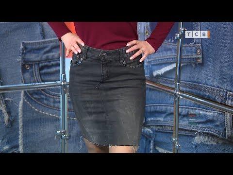 0 - Спідниця з джинсів своїми руками 🥝 як перешити штани на спідницю, викрійки, покрокова інструкція, фото