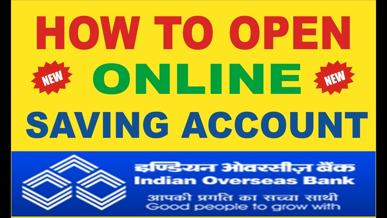 How to open online Saving account Indian Overseas Bank In Hindi