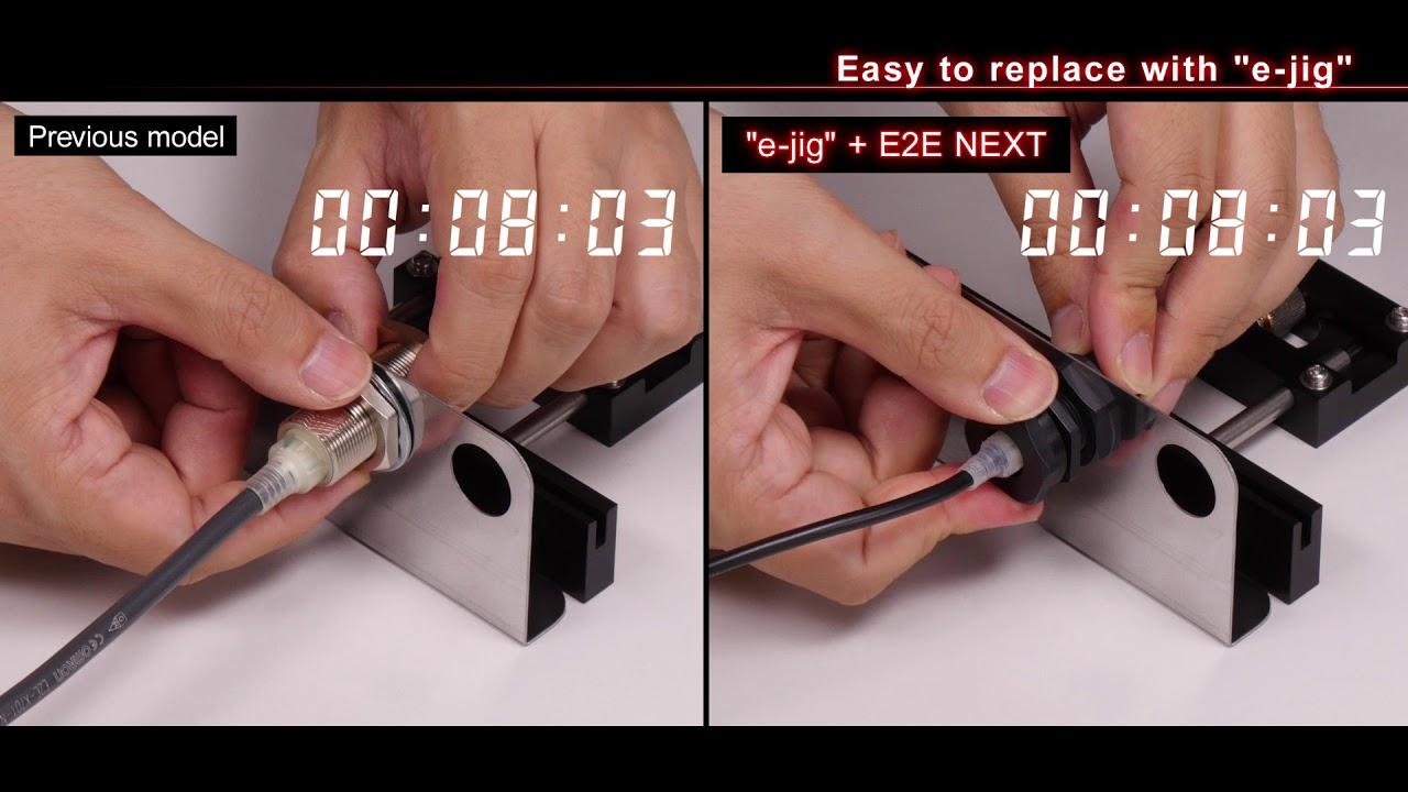 E2E NEXT Proximity Sensor: long distance detection