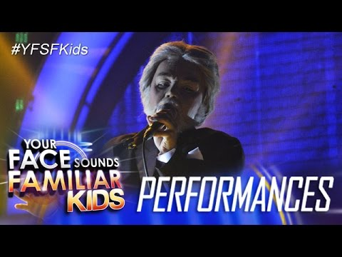 Your Face Sounds Familiar Kids: Sam Shoaf as Kenny Rogers - Through The Years