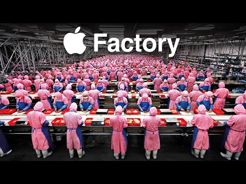 Inside Apple's iPhone Factory In China