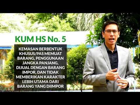 Ketentuan Umum Mengintepretasi Harmonized System (KUM HS) Nomor 4-6