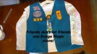 Daisy Start-Up Vest and Badge Magic Help.wmv