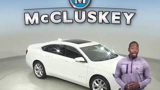 A99269GP Used 2015 Chevrolet Impala LT FWD 4D Sedan White Test Drive, Review, For Sale -