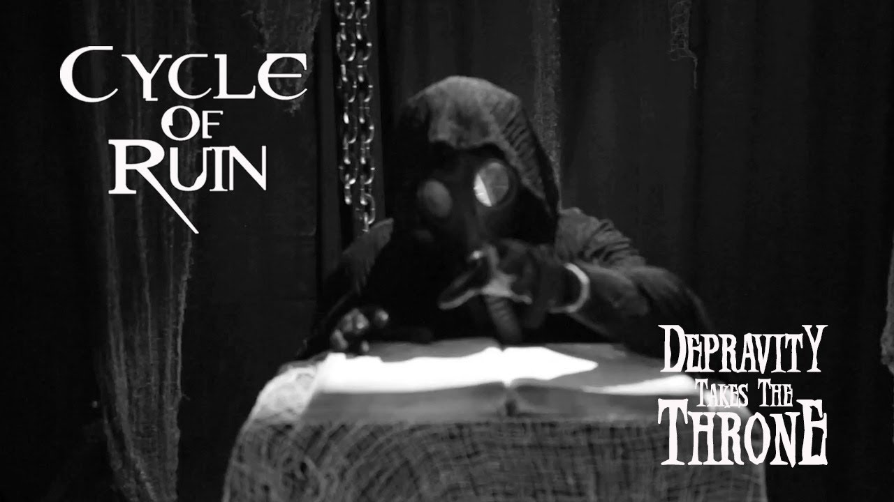 Cycle Of Ruin - Depravity Takes The Throne (Official Video)