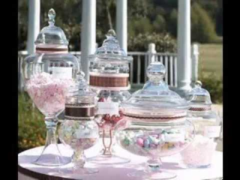 DIY Wedding Party Candy Bar Ideas