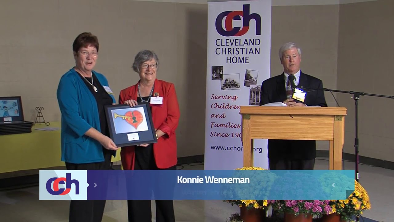 Cleveland Christian Home Honors Konnie Wenneman With The 2013 Volunteer Service Award