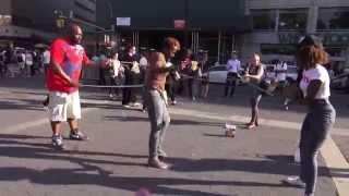 DOUBLE DUTCH  in Union Square Park, New York City - June 2014 - Jane Marino