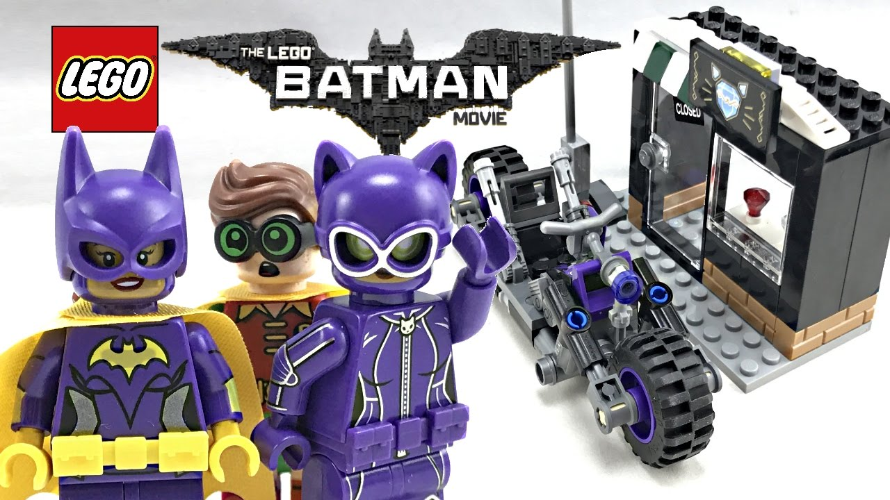 LEGO Batman Movie Catwoman Catcycle Chase review! 2017 set ...