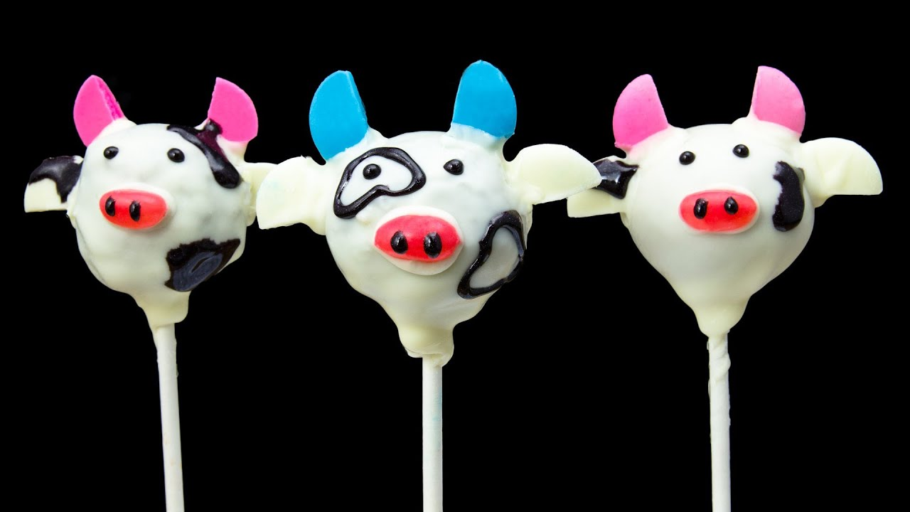 How To Make Cow Cake Pops