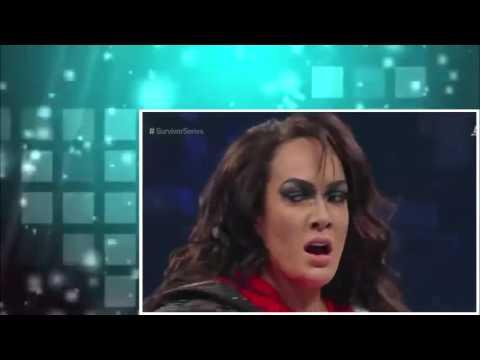 WWE Survivor Series 2016   Team Raw vs  Team SmackDown   YouTube