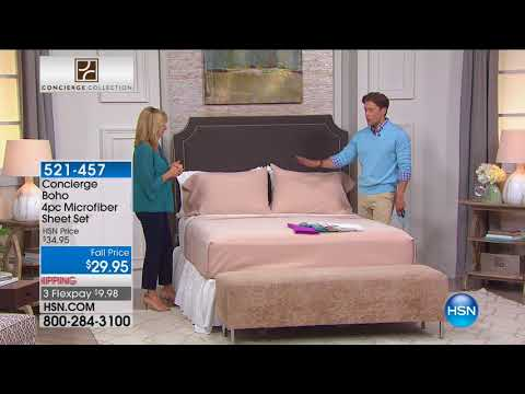 HSN | Concierge Collection Bedding 08.18.2017 - 03 PM