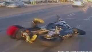 ДТП Аварии Подборка | #2 HD Падение с Мотоцикла Аварии