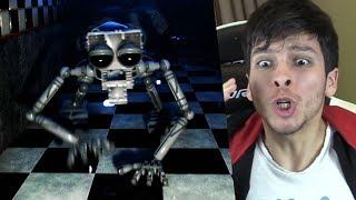 EL NUEVO ANIMATRÓNICO ENDOESQUELETO VIENE A POR MI !! - Five Nights at Freddys Remastered