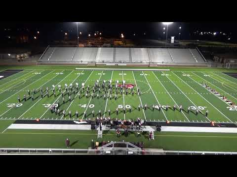 2018-10-06 Mineral Wells Marching Festival - Brownwood High School Band
