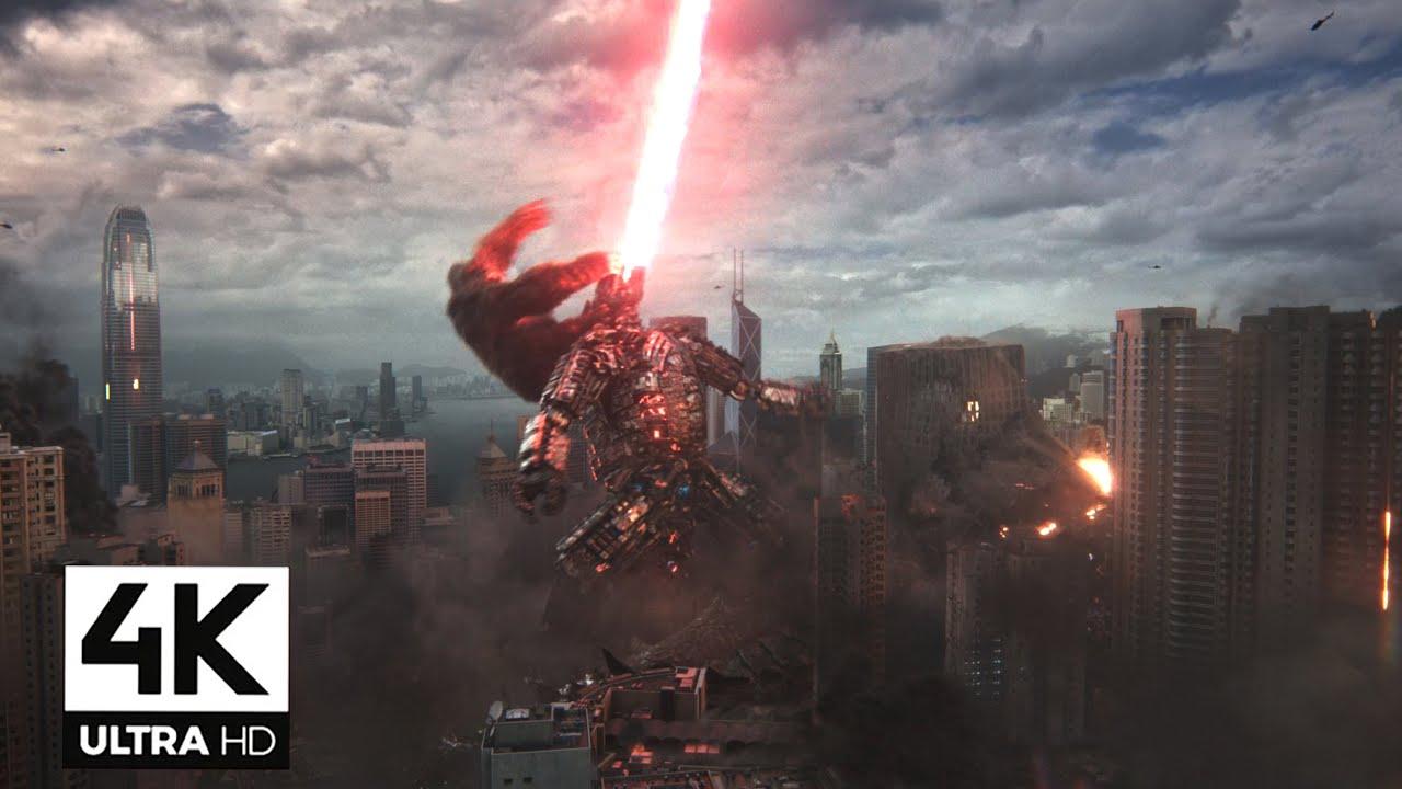 Download Godzilla Vs Kong Ending Fight Scene - 4K    Mechagozilla Vs Kong and Godzilla Final Battle 4K