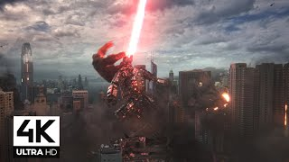 Godzilla Vs Kong Ending Fight Scene - 4K || Mechagozilla Vs Kong and Godzilla Final Battle 4K Thumb