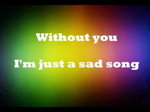 We The Kings ft. Elena Coats - Sad Song Lyrics
