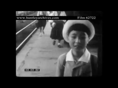 Ginza, Tokyo in the late 1940's.  Great footage.  Archive film 62722
