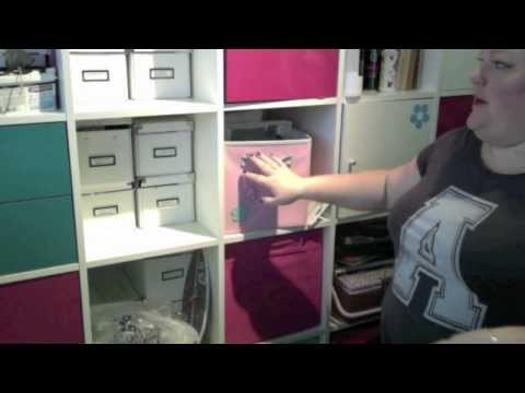How & Where I store my art supplies