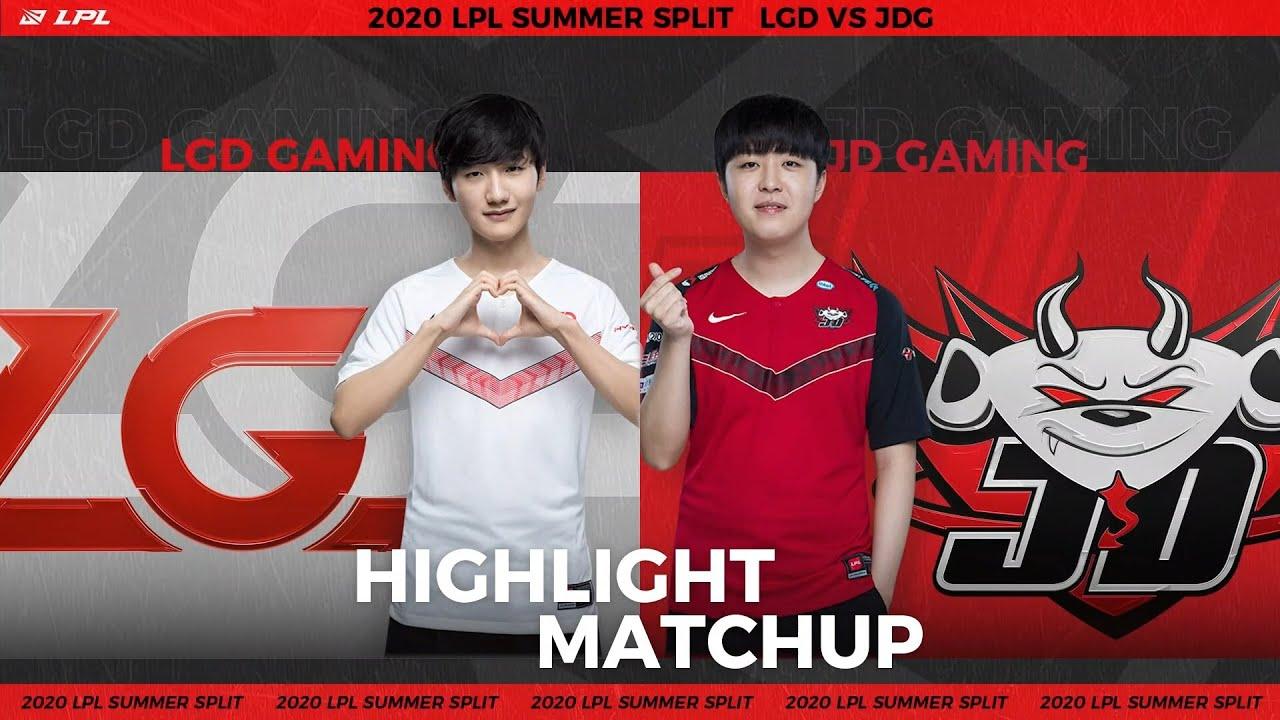 【LPL夏季賽】第6週 LGD vs JDG #2