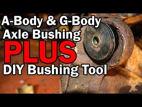 GM A-body and G-Body Axle Housing Bushing Replacement – DIY Bushing Tool