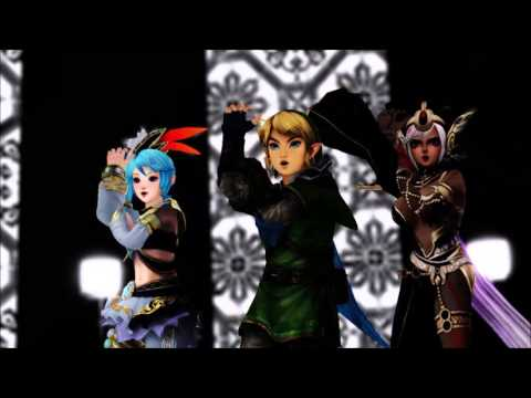 [ MMD ] Scream and Shout ft. Link, Lana & Cia