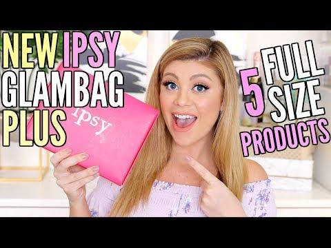 IPSY GLAMBAG PLUS UNBOXING! | FULL SIZE PRODUCTS!