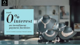 Diamond Jewellery with Interest free Installments