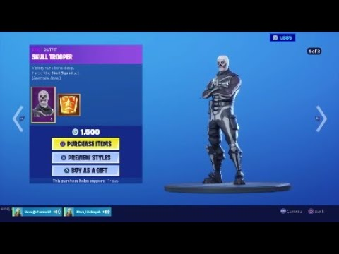 Buying The Skull Trooper Chapter 2 Season 1