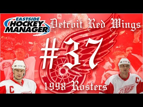Our BIGGEST Injury Yet (RIP)   Red Wings Eastside Hockey Manager - Ep. 37