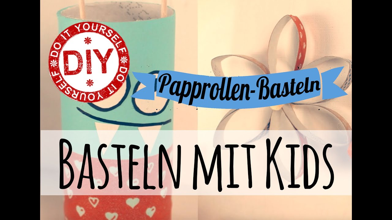 How To I Basteln mit Papprollen (8 Projekte) I Deko Inspirationen ...