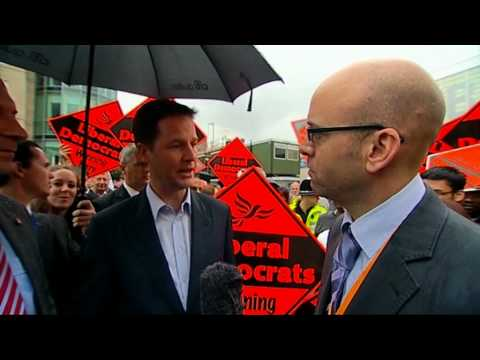 Interview with Nick Clegg..... in Dutch