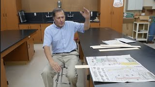 Breaking Boards Paradox II //. Homemade Science with Bruce Yeany