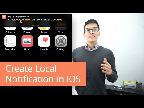 Create Local Notification with Swift in iOS