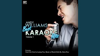 Video Almost There (In the Style of Andy Williams) (Karaoke Version) download MP3, 3GP, MP4, WEBM, AVI, FLV April 2018