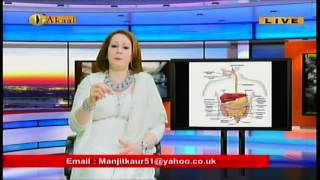 Dr Manjit Kaur - New Healthy Living Show - Acidity-Acid Reflux - Digestion