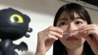 프로듀스48에 출연했던 치바 에리이(千葉 恵里)의 2018년 9월 28일자 쇼...