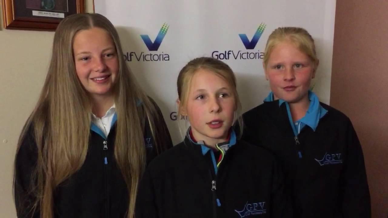 2016 Girls Golf Getaway - Round 1 Leaders - YouTube