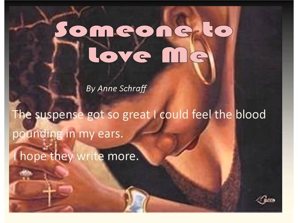 someone to love me book report