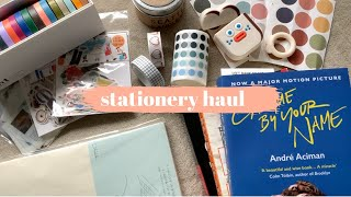 stationery haul and journal with me (2019)