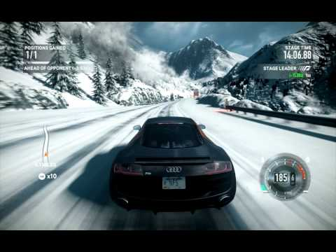 NFS The Run Game Play Video Audi R YouTube - Audi car games audi r8