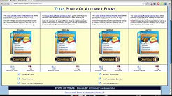 Power of Attorney Form Texas