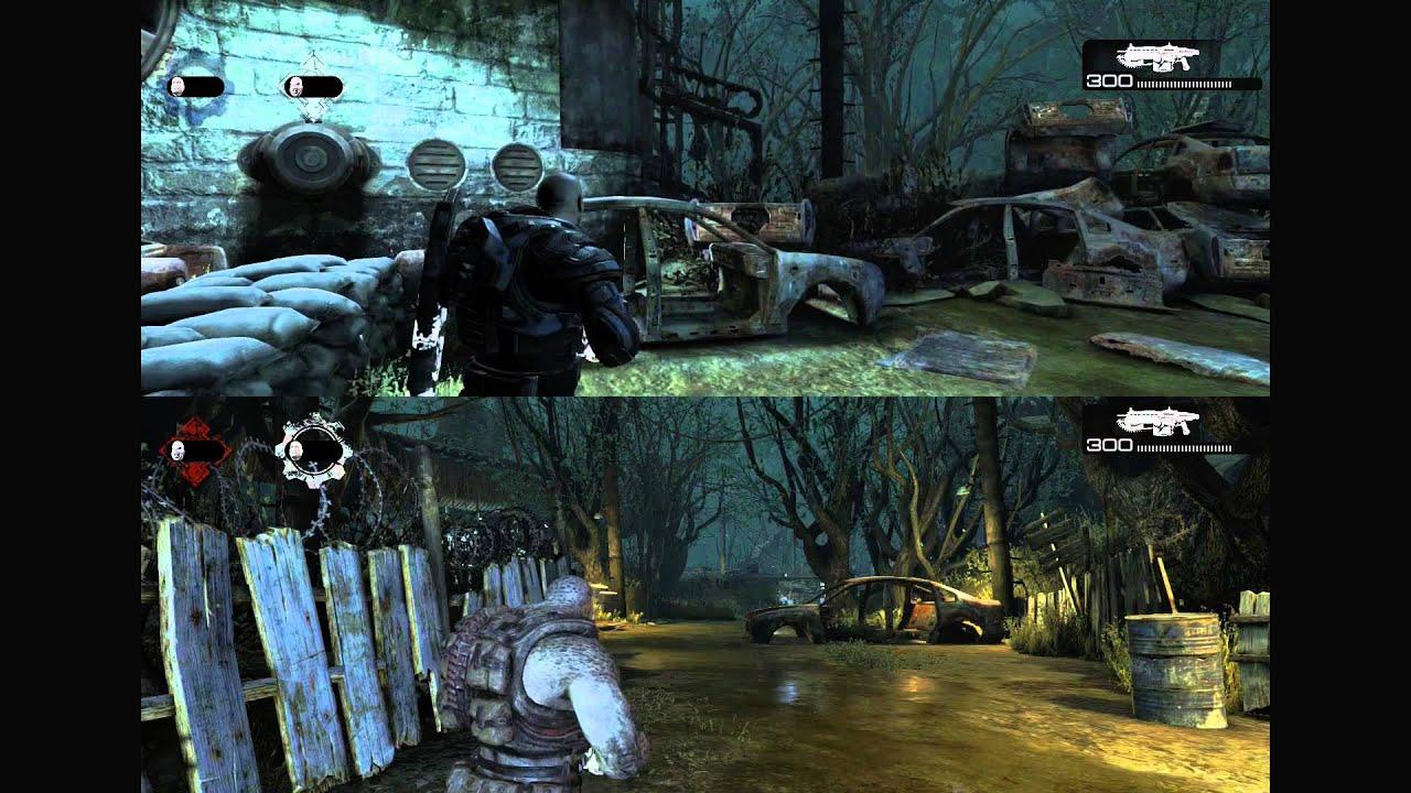 Gears Of War Ultimate Edition Xbox One Splitscreen