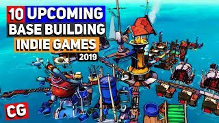 10 Upcoming Base Building Indie Games - 2019 & beyond! Ft. GamerZakh | Strategy Simulation Games