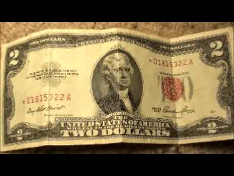 1953 TWO DOLLAR BILL STAR NOTE with RED SERIAL NUMBER
