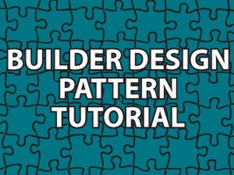 Builder Design Pattern Youtube